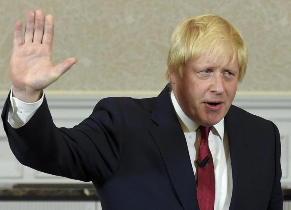 بوريس جونسون ينوي الترشح لرئاسة وزراء بريطانيا