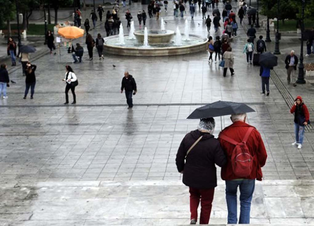 سقوط أمطار وبرد على مناطق واسعة من اليونان