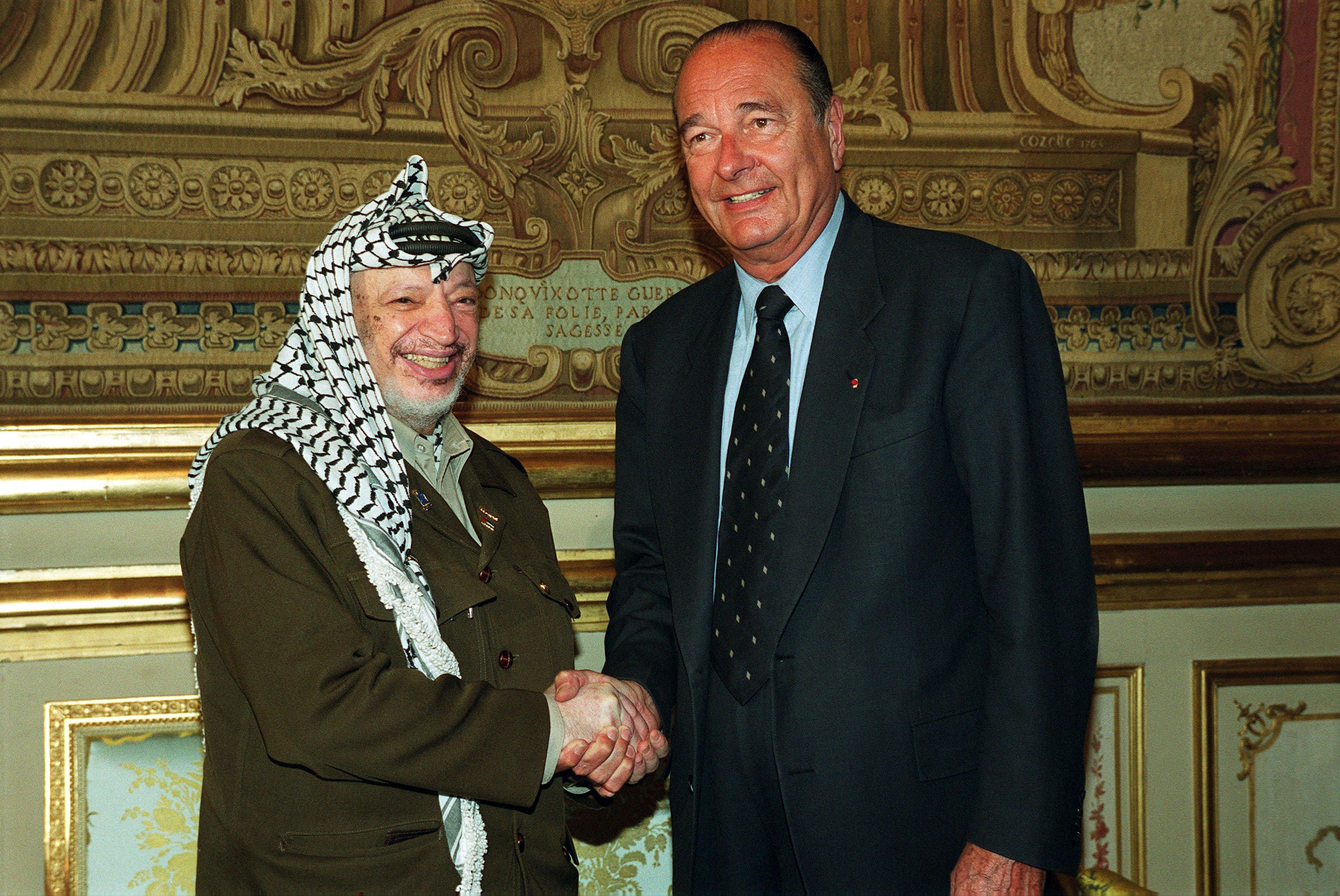 الراحل جاك شيراك... صديق فلسطين والرئيس الذي أحبه العرب