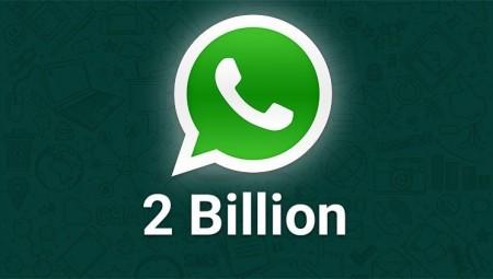 عدد مستخدمي تطبيق واتساب يتجاوز مليارين
