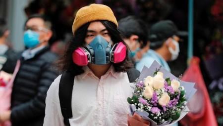 الصين.. عيد الحب في الحجر الصحي