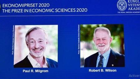 عاجل .. نوبل الإقتصاد لأميركيين عن عملهما في تطوير نظرية المزاد العلني