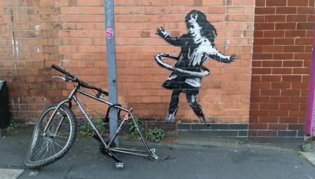 بانكسي يتبنى رسما جداريا في نوتنغهام