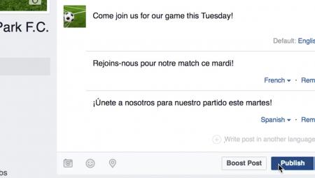 فيسبوك ستترجم لكم 100 لغة دون المرور عبر الإنكليزية