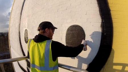 شرطة لندن تحقق في سرقة مطبوعات لفنان الغرافيتي ستيك