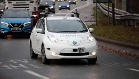 بريطانيا : أول رحلة لسيارة بدون سائق!