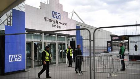 مستشفى نايتنغيل في لندن يبقى على الوضع الاستعداد لعدم دخول مرضى جدد