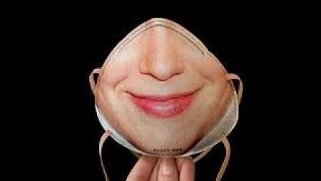 ابتكار أقنعة تحمل شكل الوجه