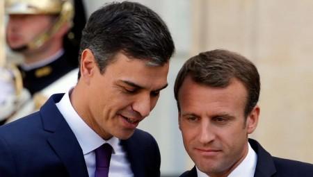عاجل.. رئيس الوزراء الإسباني يخضع للعزل بعد مخالطته ماكرون