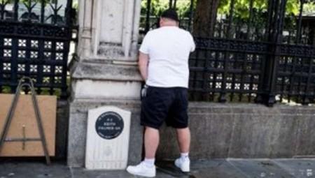 لندن.. اعتقال شخص تبول على نصب تكريمي لرجل شرطة