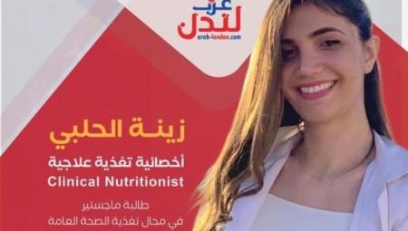 زينة الحلبي: ساعدوا أطفالكم على نمو سليم بوجبة فطور صحية وجميلة