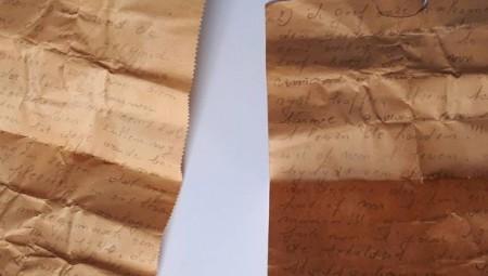 عامل بناء يعثر على رسالة تعود لعام1941