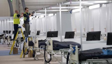 لندن.. مستشفى ميداني كبير يعاني نقصا في العاملين