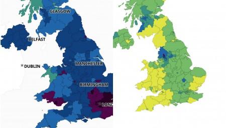بالخريطة.. كيف تغير الوضع الوبائي في بريطانيا خلال الأشهر الستة الماضية؟