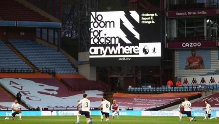 الرياضة الإنجليزية تواجه العنصرية والتمييز بشاشة سوداء