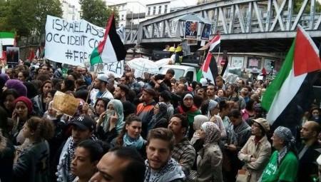 برلين.. توقيف 59 شخصا خلال تظاهرات داعمة للفلسطينيين