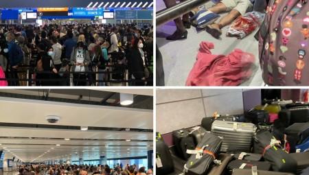 مطار هيثرو مزدحم بشكل مروع لليوم السادس.. ومطار مانشستر يواجه الأزمة ذاتها