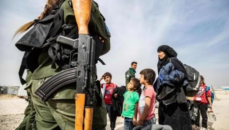 ذوو فرنسيات عالقات في سوريا يلجأون لأعلى هيئة قضائية في الاتحاد الأوروبي