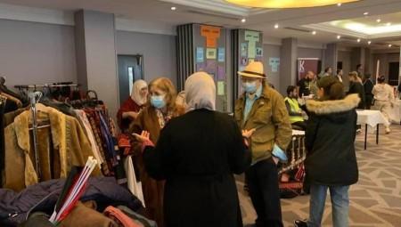 مهرجان برائحة الزعتر والزيتون.. حضور متميز وكبير في مهرجان التراث الفلسطيني