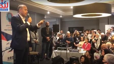 حسام زملط خلال مهرجان التراث الفلسطيني: رسالتكم اليوم هي المضاد الحيوي ضد إسرائيل والصهيونية