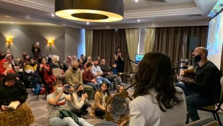 وسط حضور حاشد.. منتدى التفكير العربي ينظم أكبر مهرجان للتراث الفلسطيني بلندن
