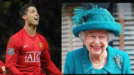 خبر غريب عن الملكة إليزابيث ورونالدو يثير ضجة كبيرة