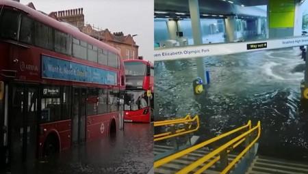 لندن.. إجلاء حوالي 100 مريض من أحد المستشفيات بسبب الفيضانات
