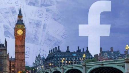 31مليون جنيه إسترليني ضرائب على فيس بوك في بريطانيا!