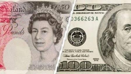صعود الجنيه الاسترليني مقابل الدولار !