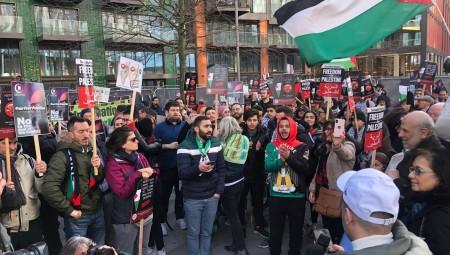 تظاهرات في عدة مدن بريطانية تنديدا بصفقة القرن